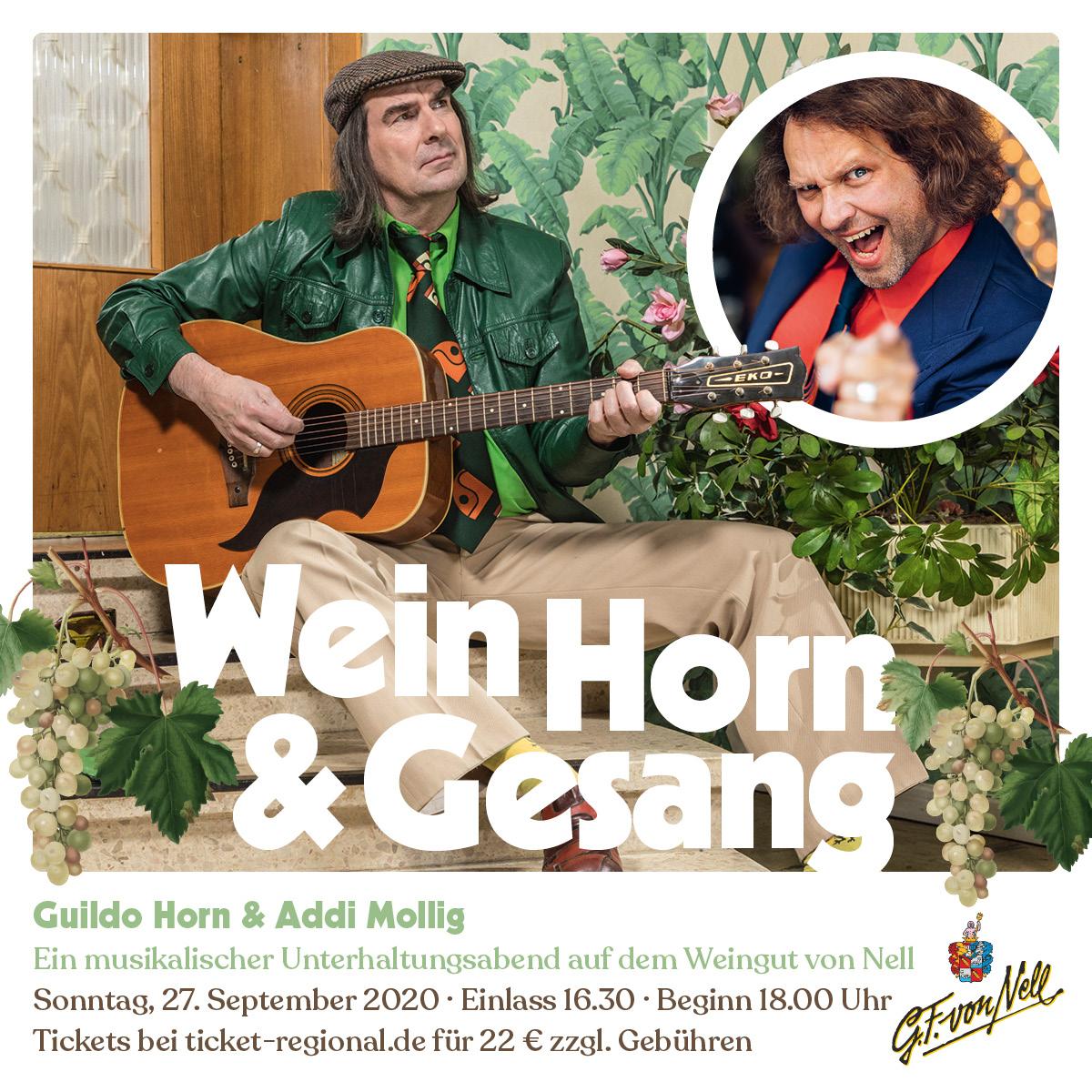 Wein Horn & Gesang